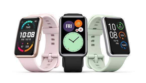 Conoce todas las características y precio del Huawei Watch Fit. (Foto: Huawei)