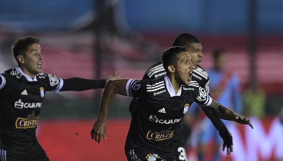 Sporting Cristal se clasificó a los cuartos de final de la Copa Sudamericana 2021. (Foto: AP)