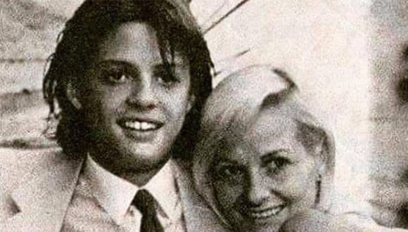 Luis Miguel es hijo de la italiana Marcela Basteri. (Foto: Archivo)