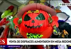 Halloween: estos son los disfraces más vendidos en Mesa Redonda