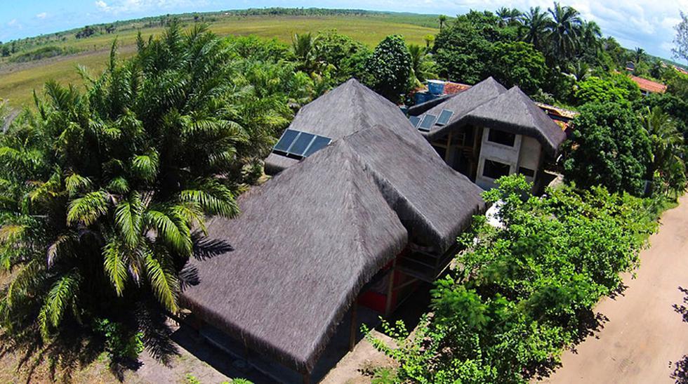 """El arquitecto italiano Renato Peron es el hombre detrás del proyecto """"Casa ecológica Origami"""", una residencia eco-friendly y auto sostenible ubicada en plena selva tropical de Brasil. (Fotos: Design Boom / Difusión)"""