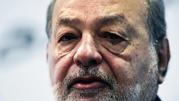 El magnate mexicano Carlos Slim debe su fortuna a operaciones en un paraíso fiscal, según revelaron los Paradise Papers. (Foto: AFP)