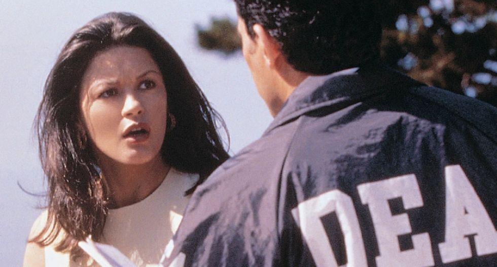 "Catherine Zeta-Jones en ""Traffic"". (Foto: Difusión)"