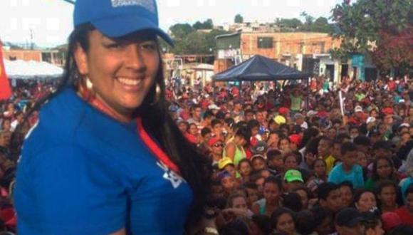 Patricia Pérez era diputada regional en el estado Lara y ganó un asiento en la Asamblea Nacional. (Foto: Facebook de Patricia Pérez).