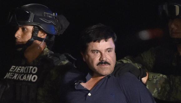 AMLO asegura que El Chapo Guzmán tenía el mismo poder que el presidente de México. Foto: AFP