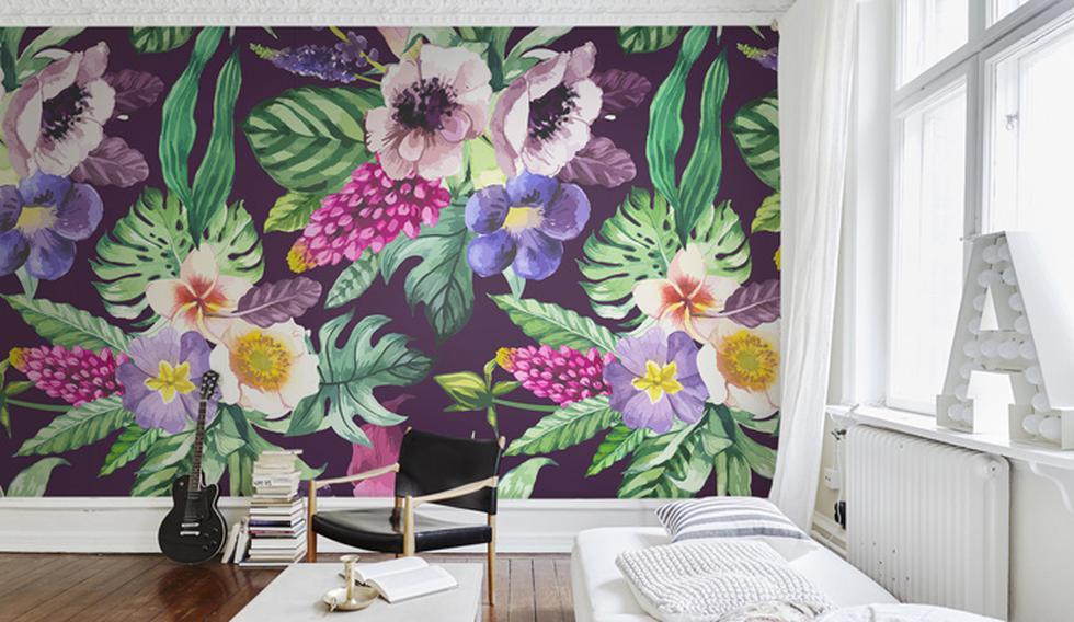 Ideas increíbles para transformar tu casa usando papel tapiz - 4