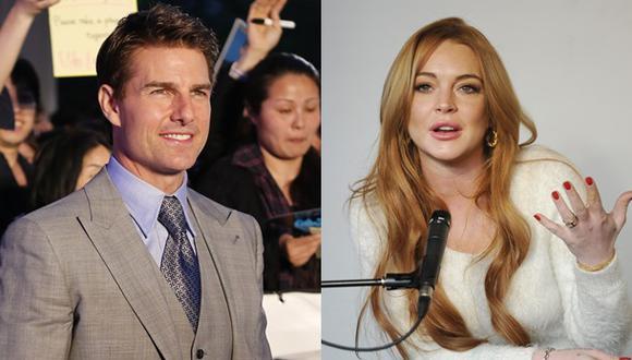 ¿Tom Cruise y Lindsay Lohan tienen un romance?
