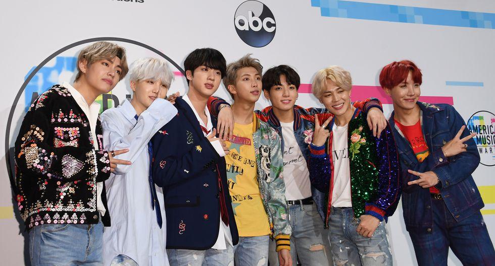 BTS perdió todos los premios a los que fue nominado en los People's Choice Awards. Ganó BlackPink. Foto: AFP.