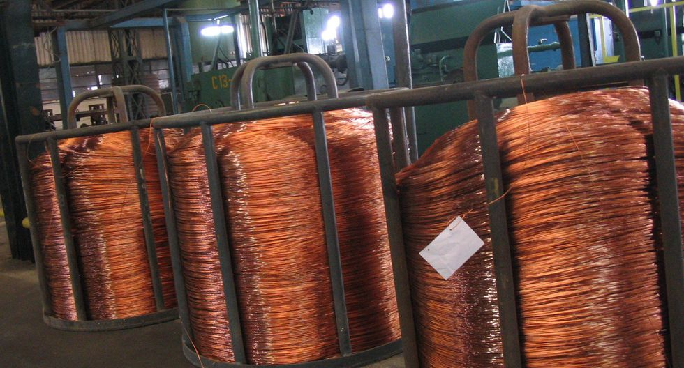 El prolongado conflicto podría afectar a la demanda de cobre de China. (Foto: GEC)
