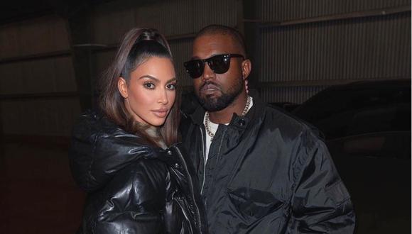 """Kim Kardashian y Kanye West estarían """"intentando arreglar las cosas"""" con terapia de pareja. (Foto: @kimkardashian)"""
