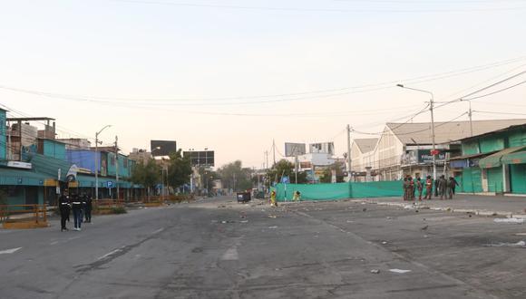 Ambulantes protestan tras desalojo en mercado modelo de Piura (Foto: Municipalidad Provincial Piura).