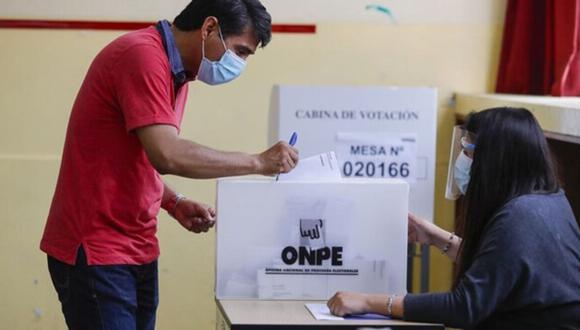 La ONPE ha definido que se podrá ir a votar desde las 7 a.m. este 11 de abril. (Foto: Difusión)