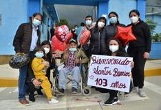 Cajamarca: anciano de 103 años que participó en la guerra peruano-ecuatoriana superó el coronavirus