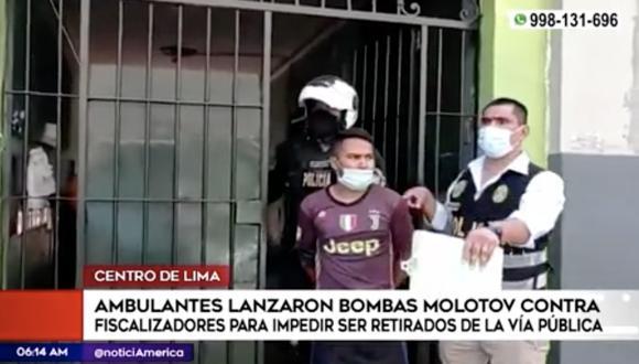 Según la Municipalidad de Lima, el operativo se realizó en el lugar porque el Triángulo de Grau se había convertido en un foco de contagio de COVID-19 debido a la aglomeración de ambulantes.