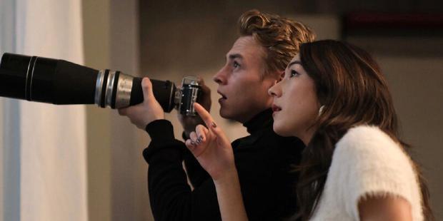 Ben Hardy y Natasha Liu