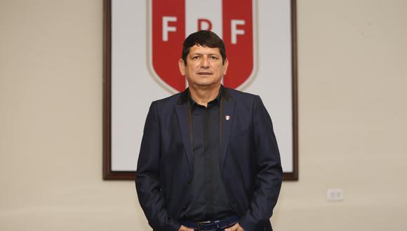 Agustín Lozano seguirá siendo presidente de la Federación Peruana de Fútbol hasta diciembre del 2021. (Foto: GEC)