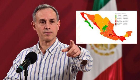 El subsecretario de Prevención y Promoción de la Salud de México, Hugo López-Gatell. Él es quien se dirige casi a diario a los mexicanos para hablar sobre el avance del coronavirus y las estrategias del Gobierno. (Foto: EFE/ Twitter).