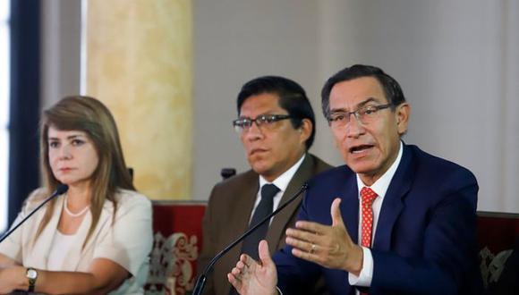 La segunda razón por la que los peruanos respaldan al presidente Martín Vizcarra es por su trabajo para mejorar la salud.  El 11 de marzo anunció las primeras medidas para combatir el coronavirus. (Foto: Presidencia)