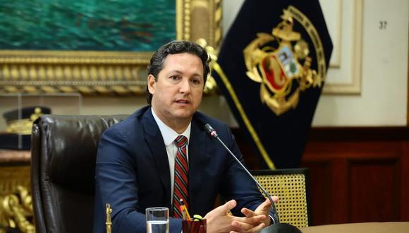 El presidente del Congreso, Daniel Salaverry, señaló que con la presencia de Yeni Vilcatoma ya había quórum reglamentario en el Consejo Directivo. (Congreso de la República)