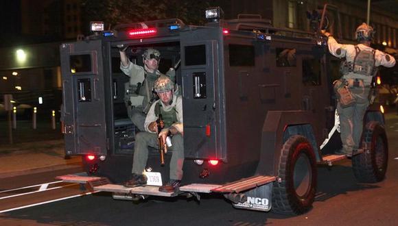 Protestas en Estados Unidos por Breonna Taylor. (EFE).