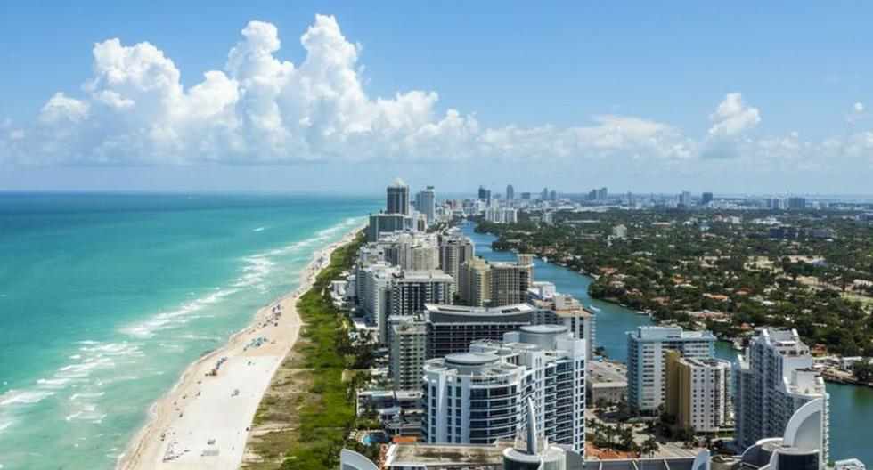 How Miami Beach was built by gaining ground from the sea in a swampy area (and the risks that this implies)
