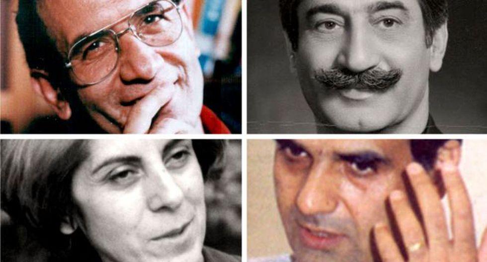 Algunas de las víctimas de los asesinatos de 1988. Foto: BBC Mundo