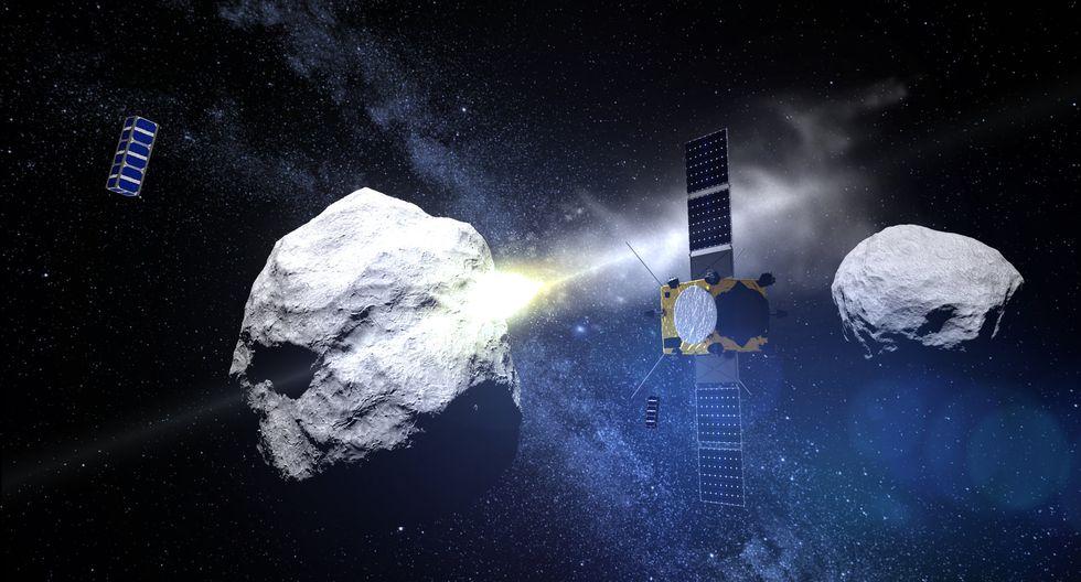 Hera es una versión simplificada de AIM, un proyecto que en la pasada ministerial de la ESA de 2016. (Foto: ESA)