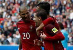 Portugal marcó el 2-1 ante México vía penal de Adrien Silva