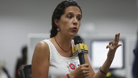 """Marisa Glave considera """"ilegítima"""" su remoción de comité del FA"""