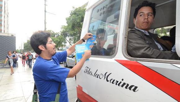 Miraflores relanza campaña contra el acoso callejero