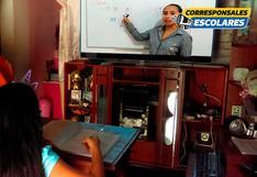 Clases virtuales: Experiencia de maestros y alumnos de Pamplona Alta