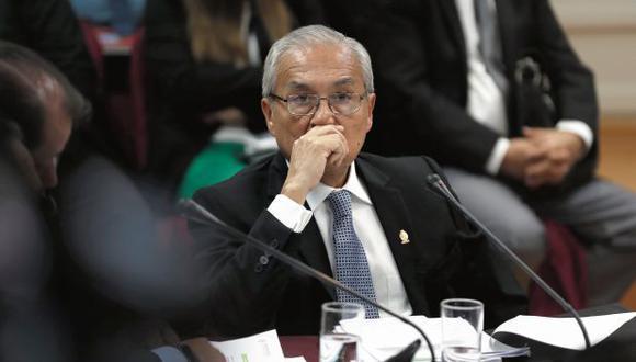 En enero, Chávarry renunció a fiscal de la Nación tras varios cuestionamientos. El fiscal supremo, además, ha sido vinculado a la organización Los Cuellos Blancos del Puerto. (Foto: Renzo Salazar/ El Comercio)