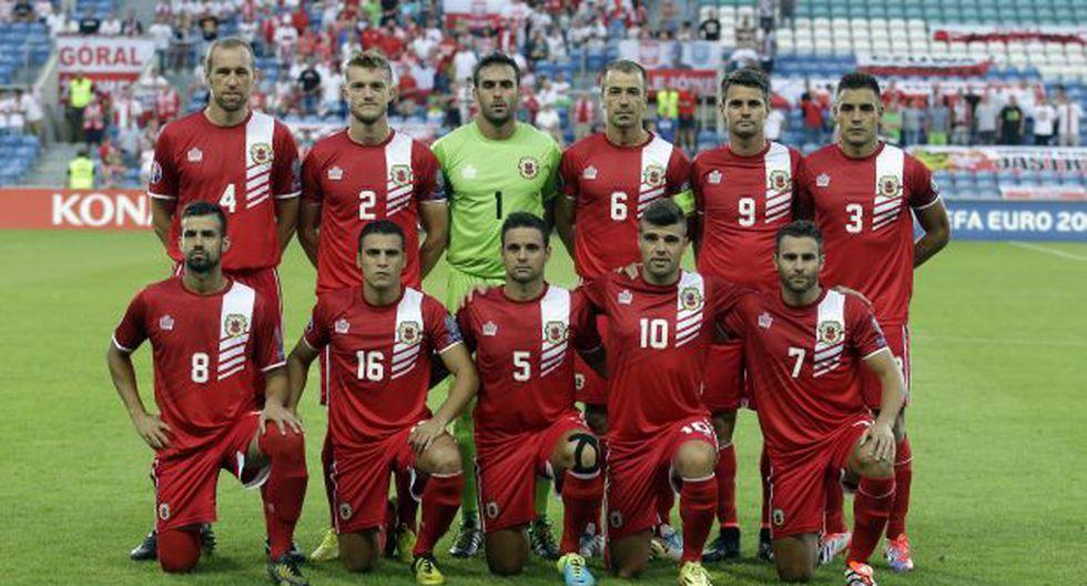 Selección de Gibraltar: Profesiones de los jugadores del equipo - 1