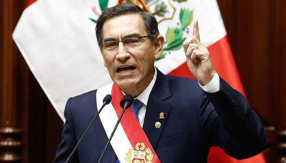 Diversos precandidatos presidencial se pronunciaron sobre el pedido de vacancia contra Martín Vizcarra (Foto: El Comercio)