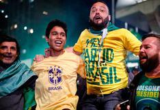 Brasil: Seguidores de Bolsonaro explotan en júbilo tras confirmarse su victoria | FOTOS