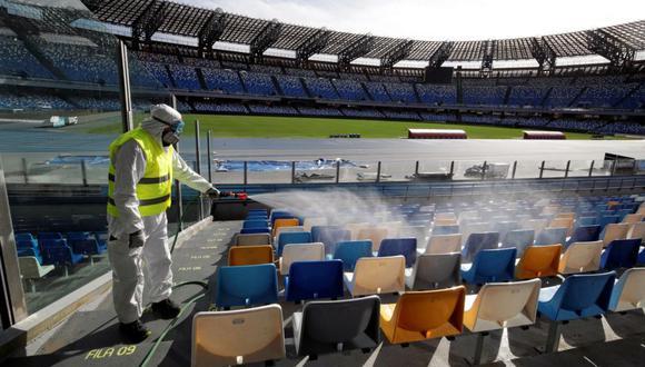 El coronavirus tiene un fuerte impacto en el mundo del fútbol. (Foto: AFP)