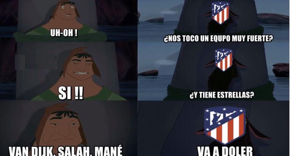 Atlético de Madrid vs. Liverpool: memes en Facebook por la previa de la ida de los octavos de final de la Champions League.