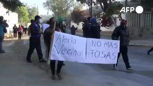 Bolivia: protestan contra cementerio por entierros de muertos por COVID-19