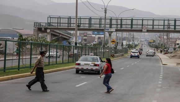 Félix Moreno Caballero insiste en que no tiene responsabilidad en las irregularidades halladas por la fiscalía en las obras de la Av. Néstor Gambetta, en el Callao. (El Comercio)