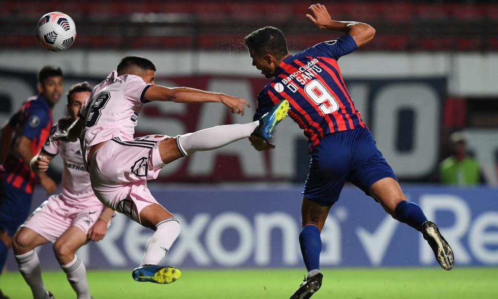 San Lorenzo eliminó a U de Chile en el Nuevo Gasómetro. Di Santo y Romero marcaron los goles para la victoria del 'Cuervo' | Foto: AFP
