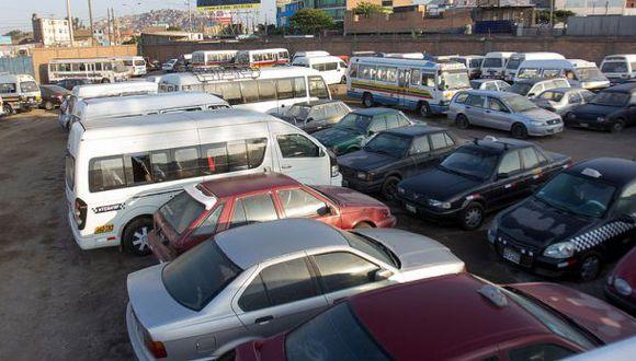 Rematarán más de 400 vehículos desde 100 soles