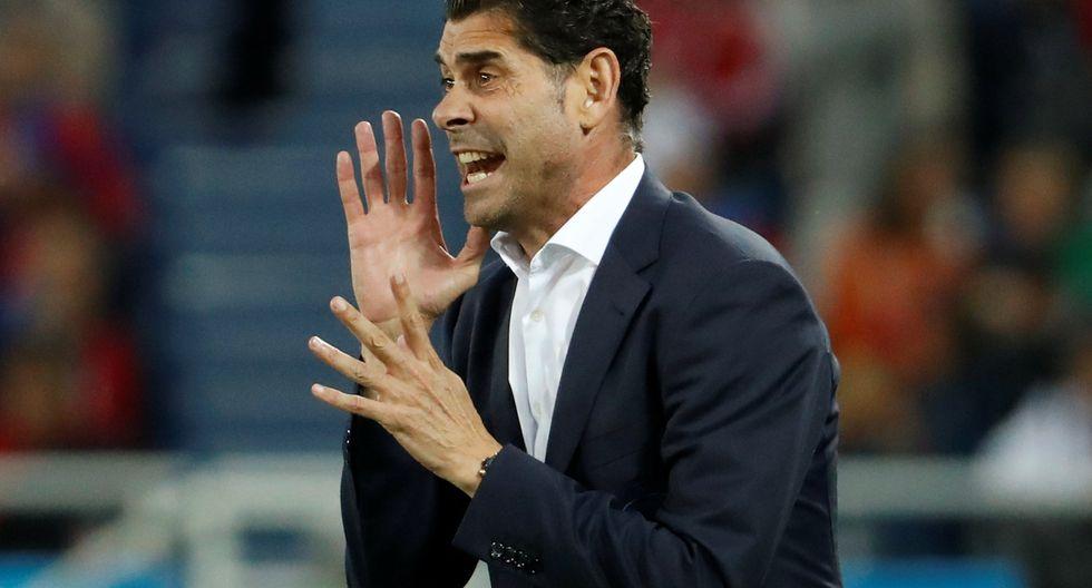 El entrenador de España quedó inconforme y fastidiado por la forma en cómo sus dirigidos hallaron la igualdad ante Marruecos por el cierre de la fase de grupos de Rusia 2018. (Foto: Reuters)