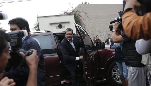 El 17 de abril del 2019,  Alan García se disparó un tiro para evitar su detención y apelar a lo que llamó el juicio de la historia. (Foto: GEC)