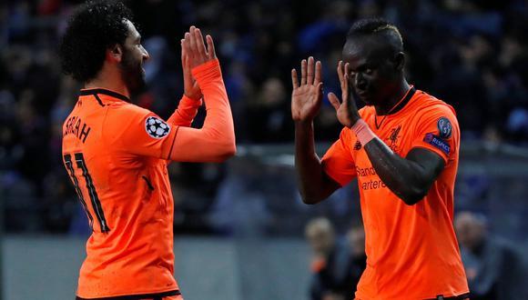 Liverpool goleó 5-0 al Porto y tiene un pie en cuartos de final