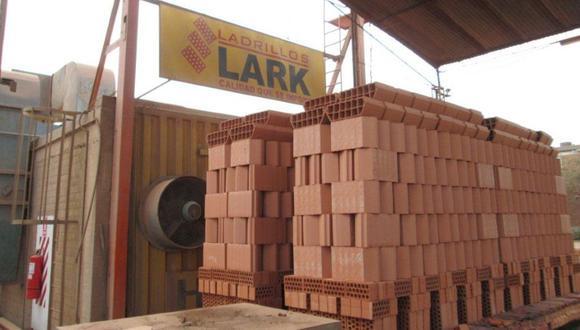 Ladrillos Lark mantendrá una producción de 360.000 toneladas en su planta de Lima este año y en Chiclayo pasarán de las 117.000 a las 140.000 toneladas a partir de julio, tras la ampliación de su planta.