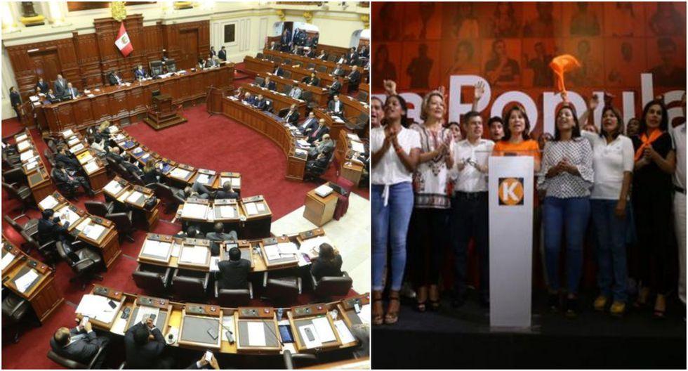 """""""Fuerza Popular perdió su mayoría (2020-2021: 8% de los escaños; 2016-2020: 56%)"""", detalló Fitch en su comunicado. (Foto: GEC)"""
