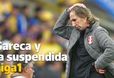 Ricardo Gareca y sus ganas de salvar la Liga 1