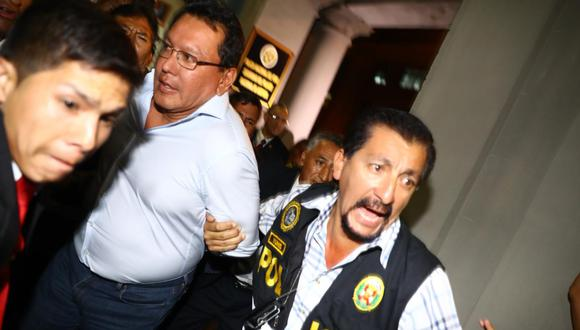 Félix Moreno, exgobernador del Callao cumplirá seis meses prófugo de la justicia este 17 de julio. (Foto: GEC)