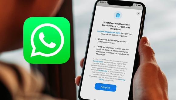 De esta forma podrás volver a ver las nuevas condiciones 2021 de WhatsApp. (Foto: MAG)