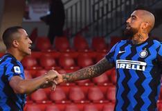 Arturo Vidal y Alexis Sánchez no continuarían en el Inter de Milán, según prensa italiana